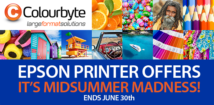 EPSON Printer Offers - It's Midsummer Madness!